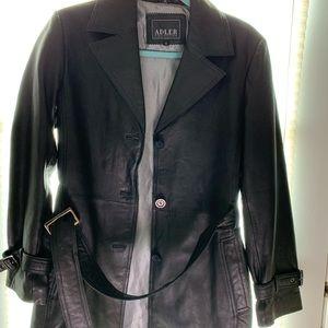 3/4 leather jacket